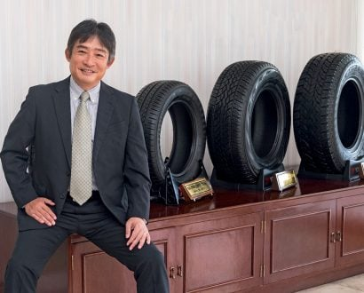 Hitoshi Kobayashi President and CEO of Yokohama Tires Philippines Inc