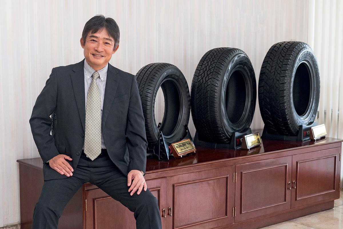 Hitoshi Kobayashi President and CEO of Yokohama Tires Philippines Inc