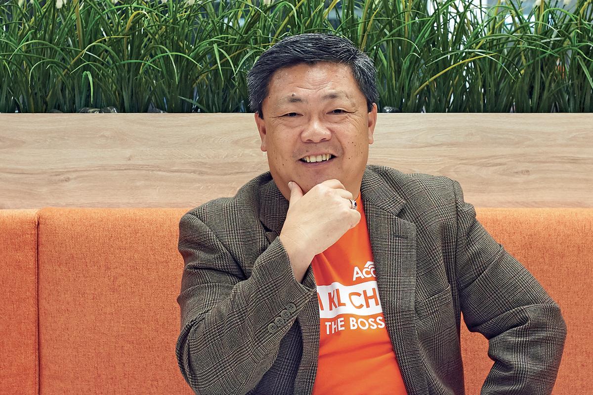 Chan Kok Long Executive Director and Founder iPay88