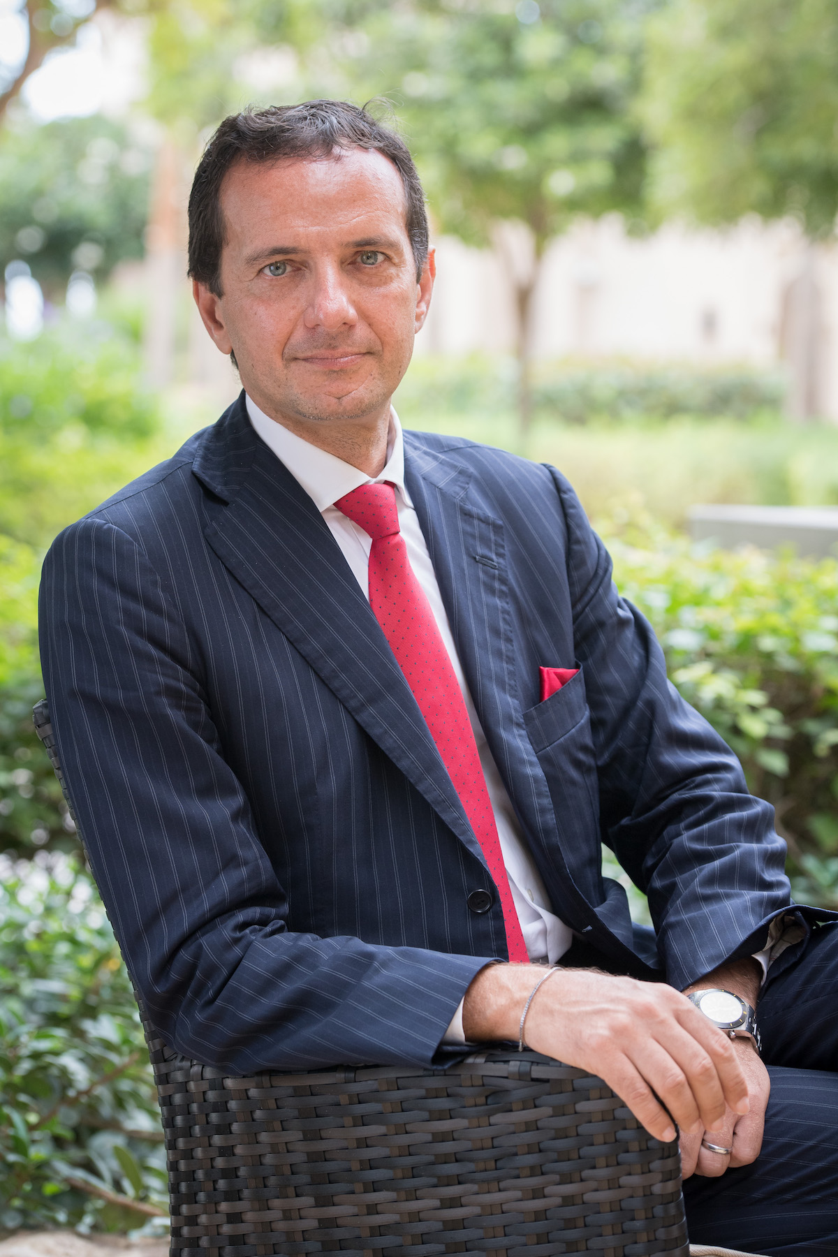 Giuseppe Ambrosio, President of the Monaco Single and Multi-Family<br /> Office International Association.