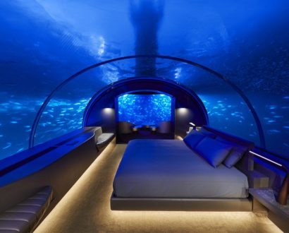 See the stunning new underwater hotel in The Maldives