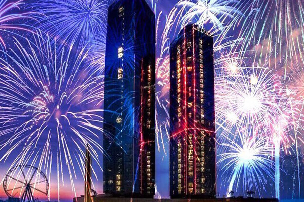 New Year's Eve Dubai, Abu Dhabi