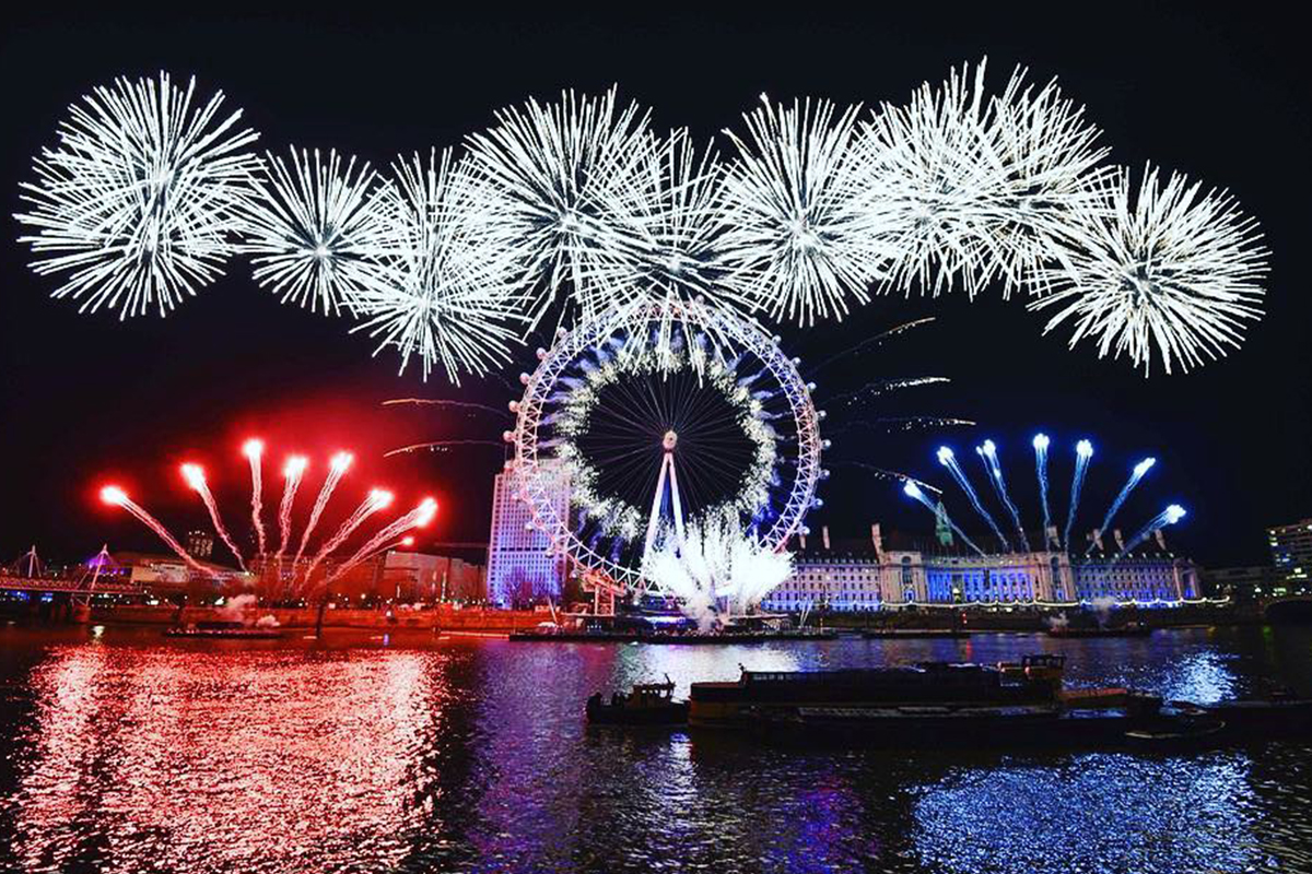 New Year's Eve London, England