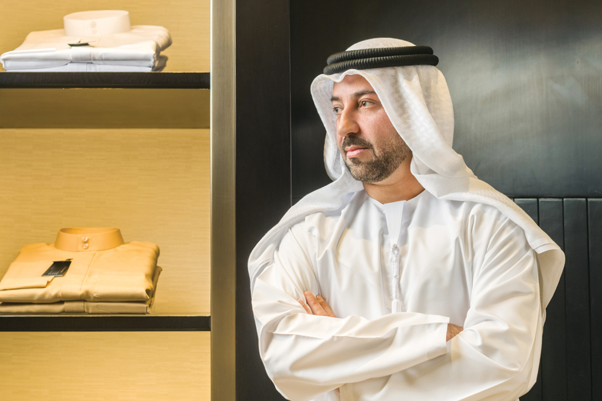 Hadef Al Shamsi CEO of Bait Al Kandora