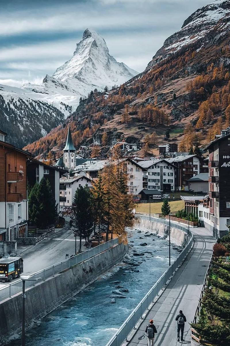 Zermatt, Switzerland and Italy Ski resorts