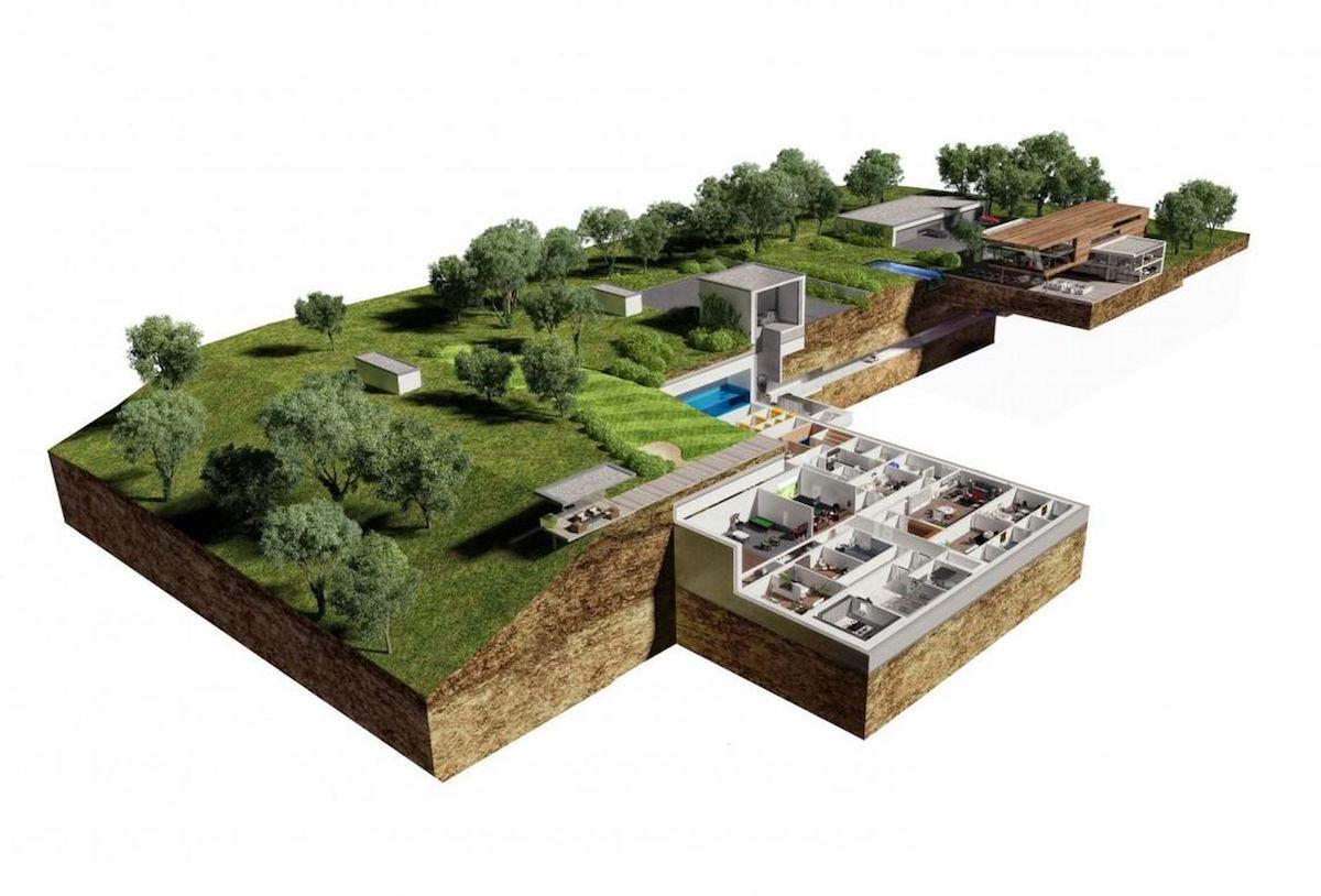 The Oppidum underground bunker