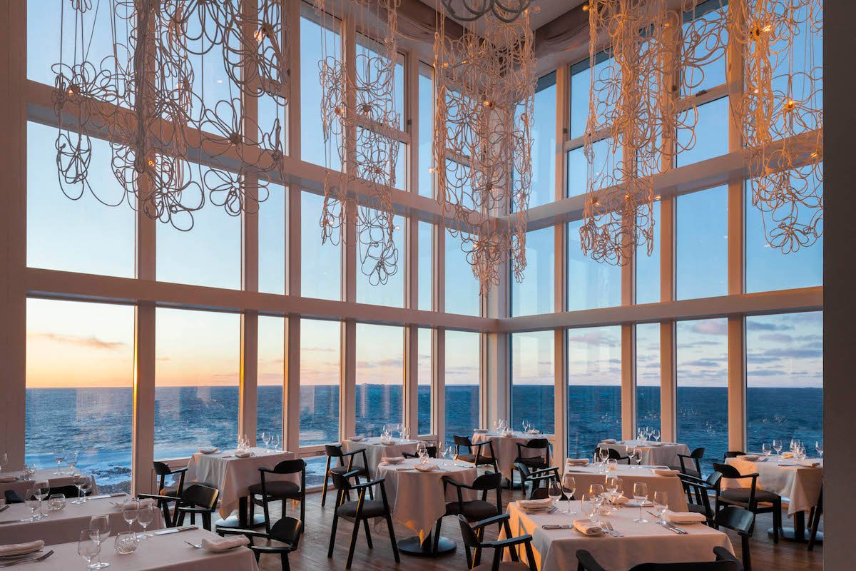 Fogo Island Inn dining room