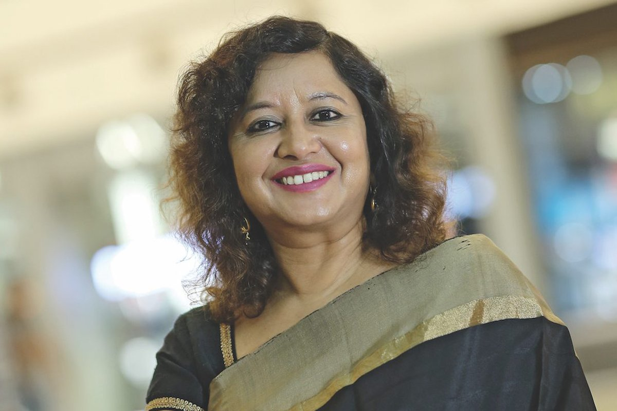 Pushpa Bector Executive Vice President and Head of DLF Shopping Malls