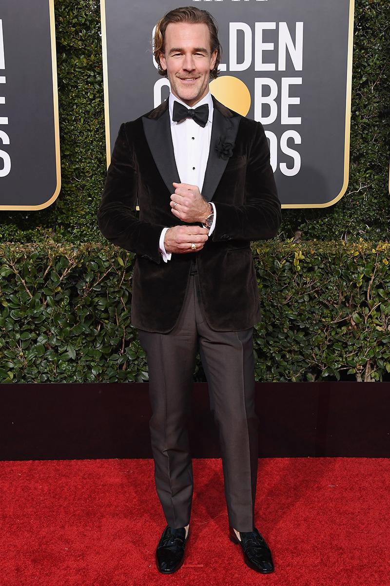 Golden Globe Awards James Van Der Beek IWC