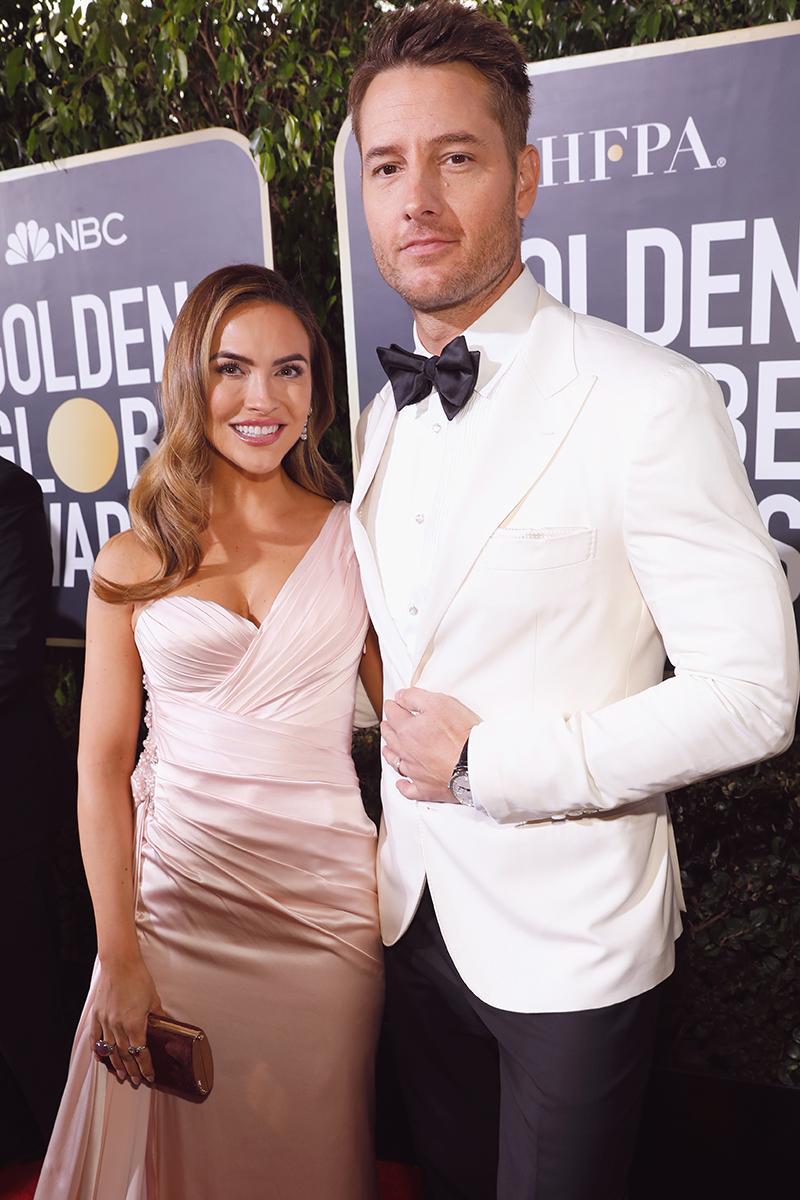Golden Globe Awards Justin Hartley IWC