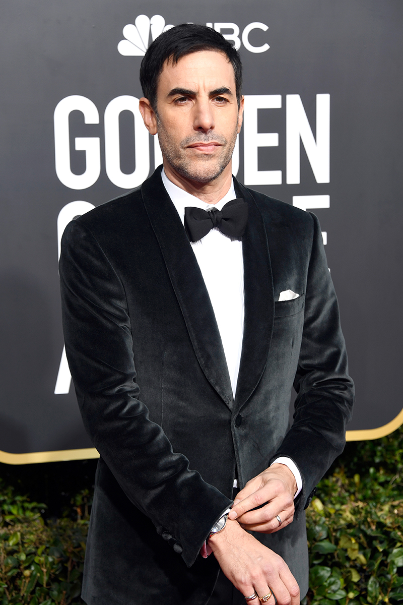 Sacha Baron Cohen Golden Globe Awards IWC