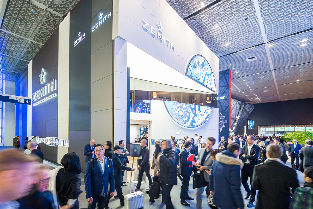 Swiss watch show Baselworld