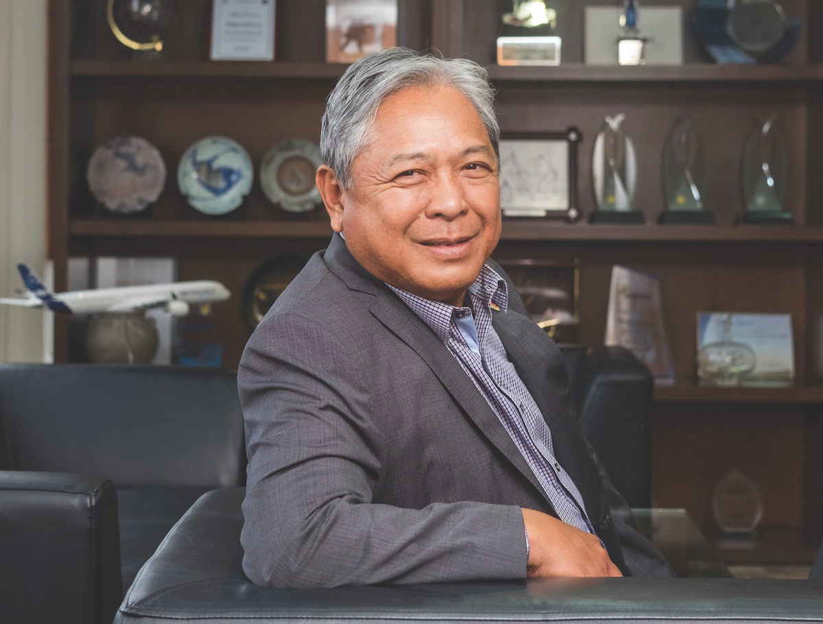 Jaime Bautista President and COO of Philippine Airlines