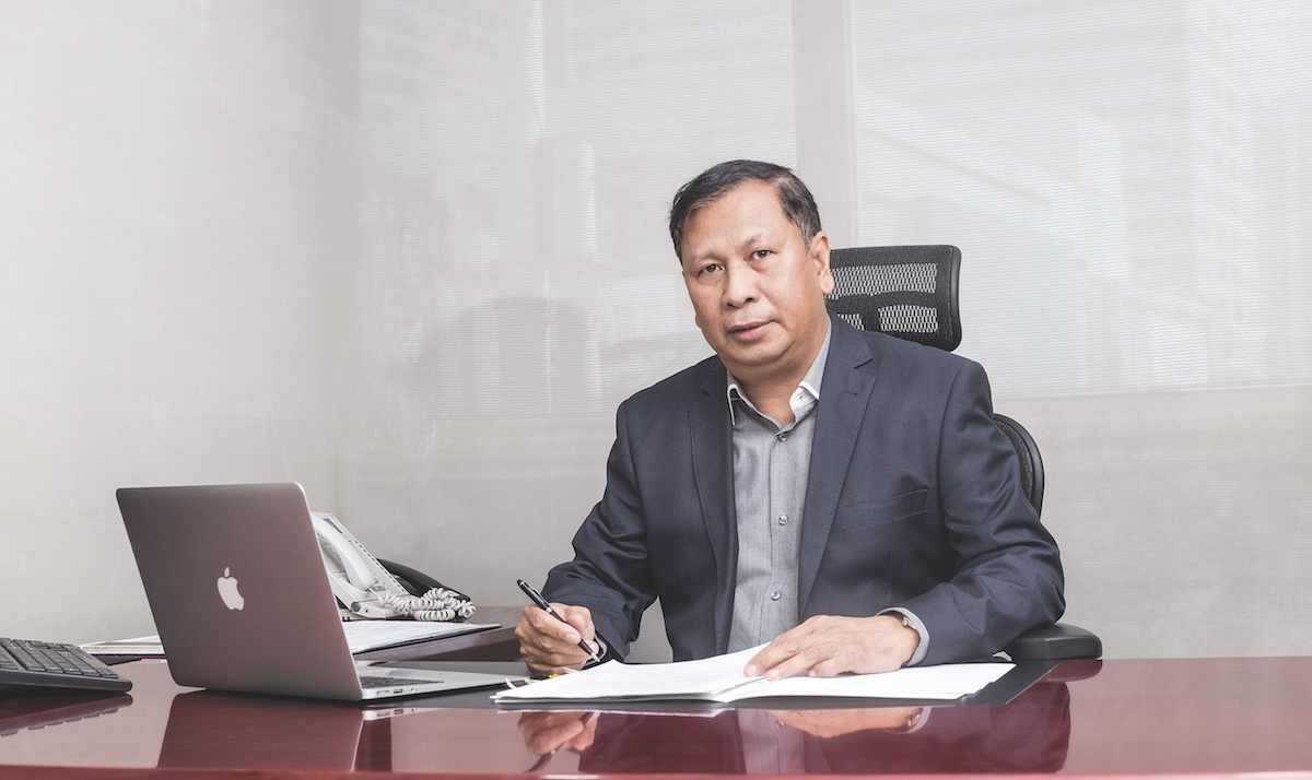 Julian Concepcion President and CEO of Phinma Properties