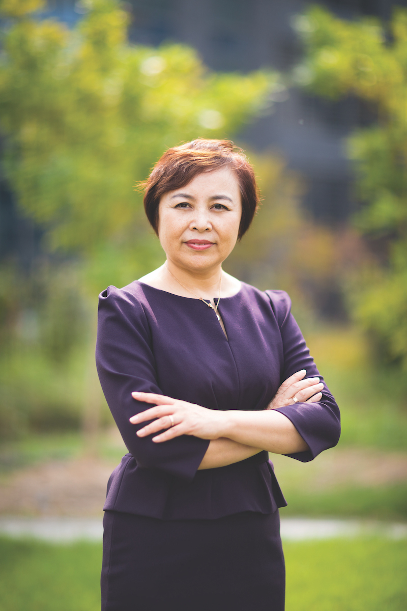 Linda Gao CEO of Inalfa Roof Systems