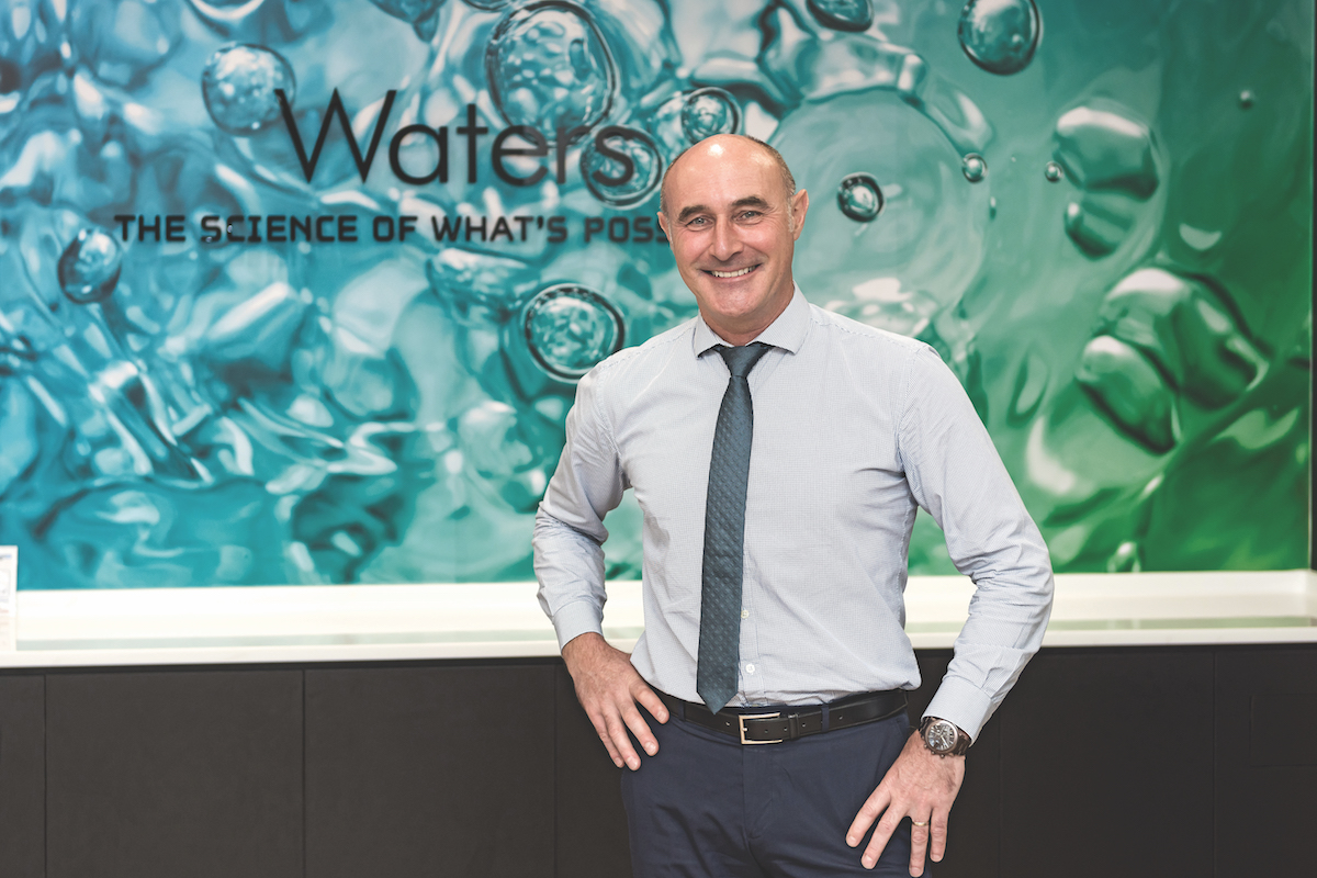 Mathieu Laouenan General Manager of Waters Pacific