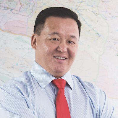 Myagmarjav Luvsandash CEO of MCS Coca-Cola