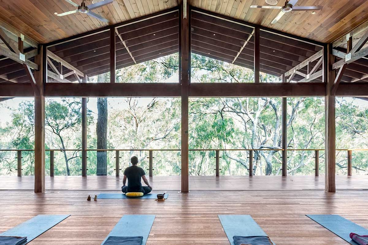 Billabong Retreat yoga studio