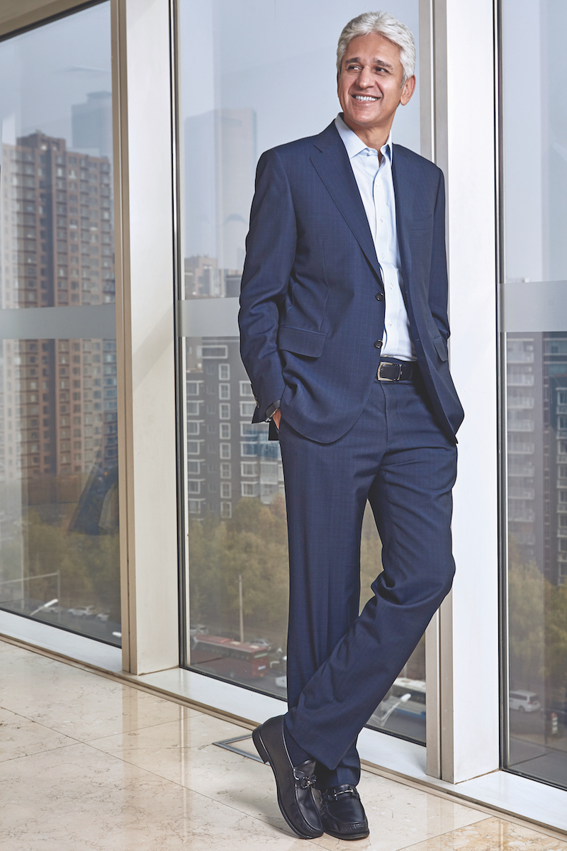 Rashid Qureshi Chairman and CEO of Nestlé Greater China