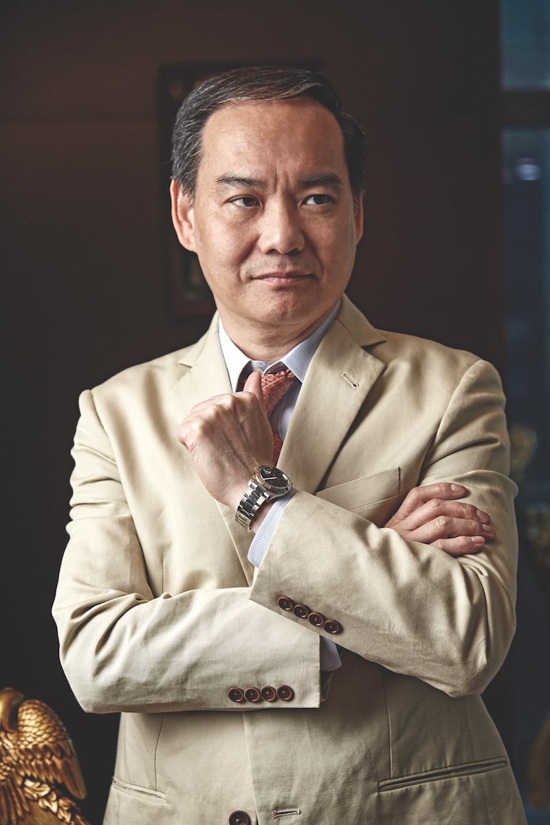 Simon Li CEO of Feoso Oil