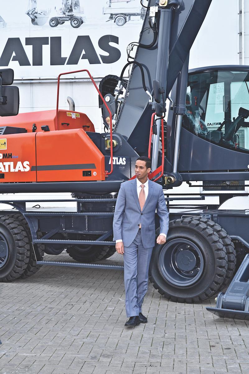 Brahim Stitou Managing Director  of Atlas GmbH