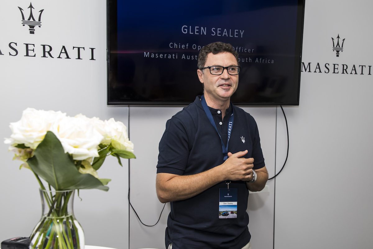 Maserati Glen Sealey