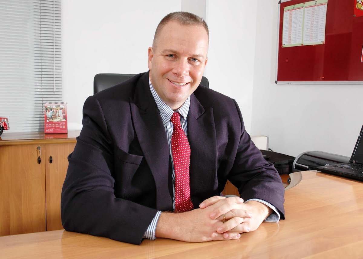 James Michael Lafferty CEO of Fine Hygienic Holding