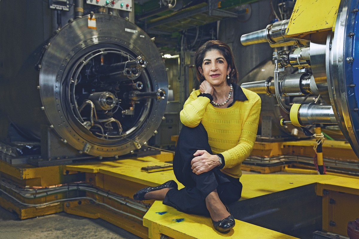 Fabiola Gianotti Director General of CERN