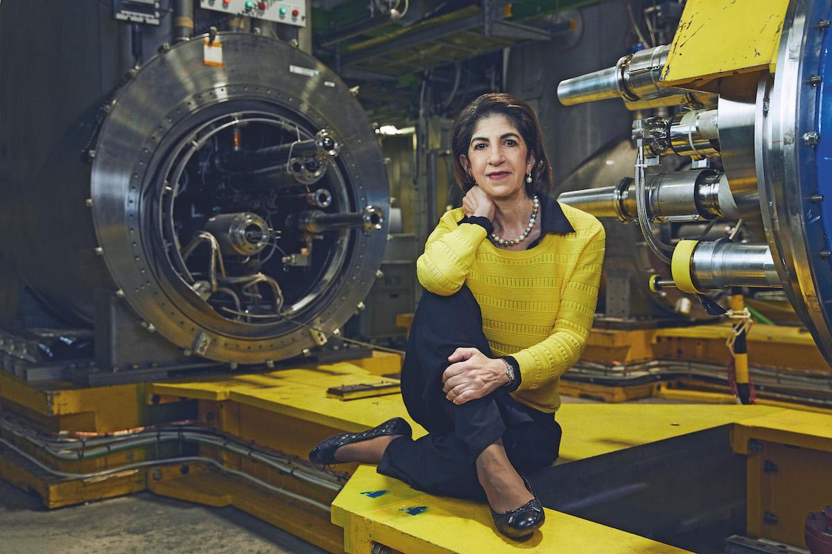 Fabiola Gianotti Director General of CERN