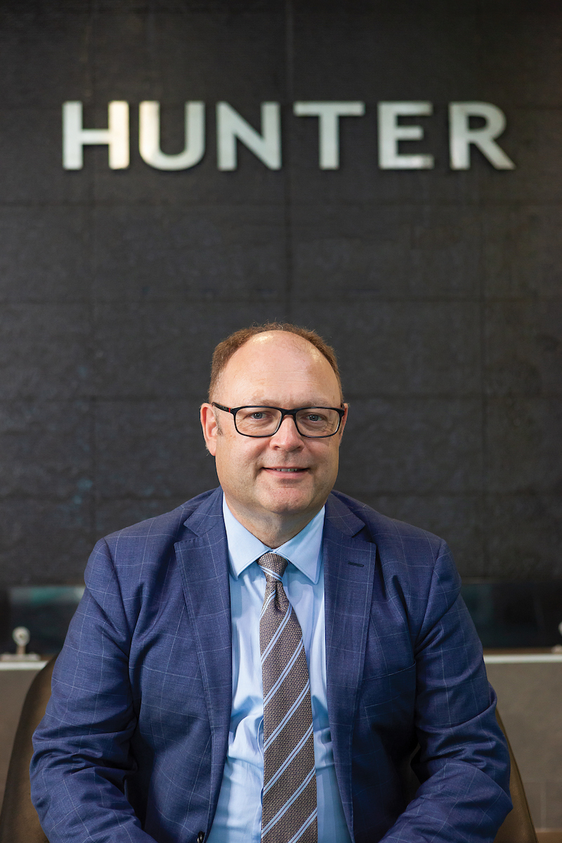 Dr Jim Bentley Managing Director of Hunter Water