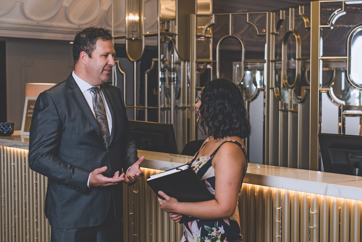 Luke Walker General Manager of Adelaide Casino
