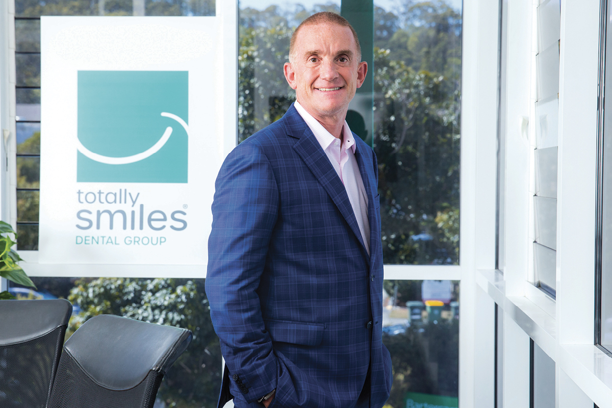 Mike Timoney Founder and CEO of Smiles Inclusive
