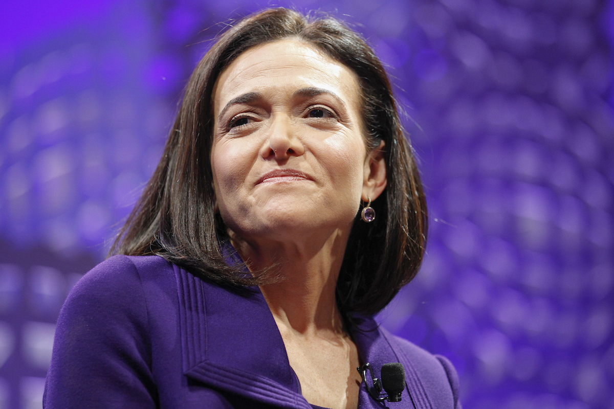 International Women's Day: Sheryl Sandberg, COO of Facebook