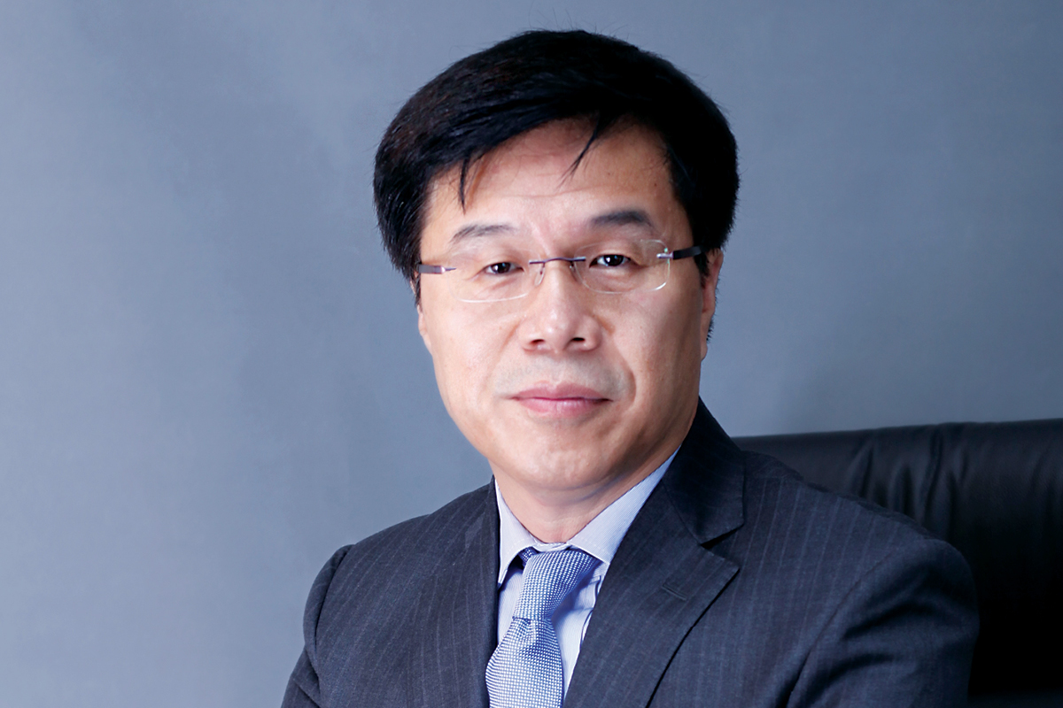 Alan Chen CEO of Fresenius Medical Care China