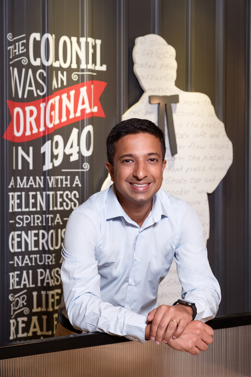Dilip Roussenaly COO of Yum! Brands Asia