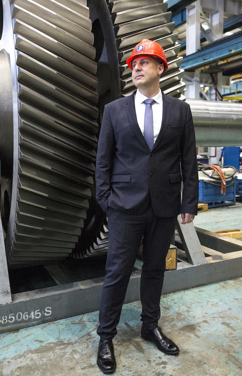 Francois-David Martino CEO of Danieli Metallurgical Equipment & Service China
