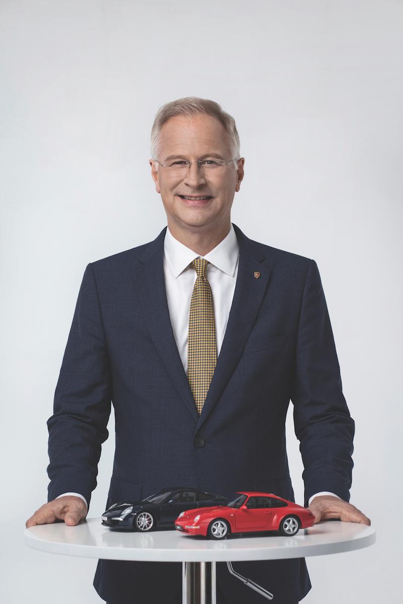 Jens Puttfarcken CEO of Porsche China