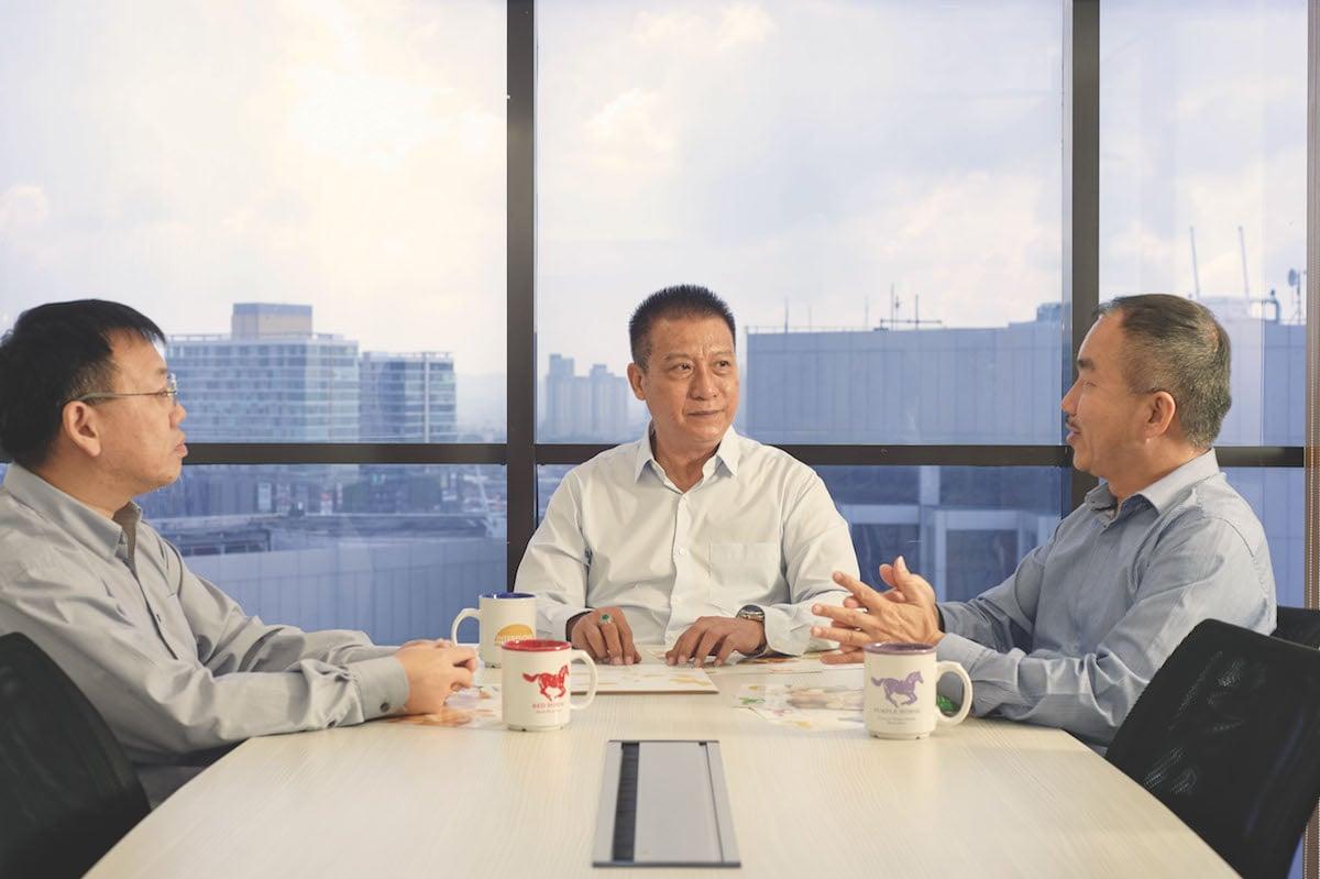 Ricky Tan, CEO of Interflour