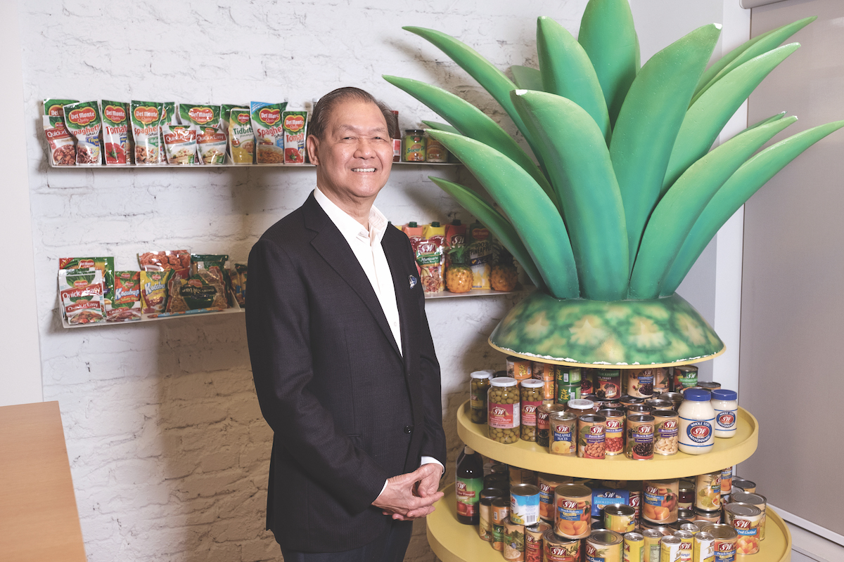 Rolando Gapud, Chair of Del Monte Pacific