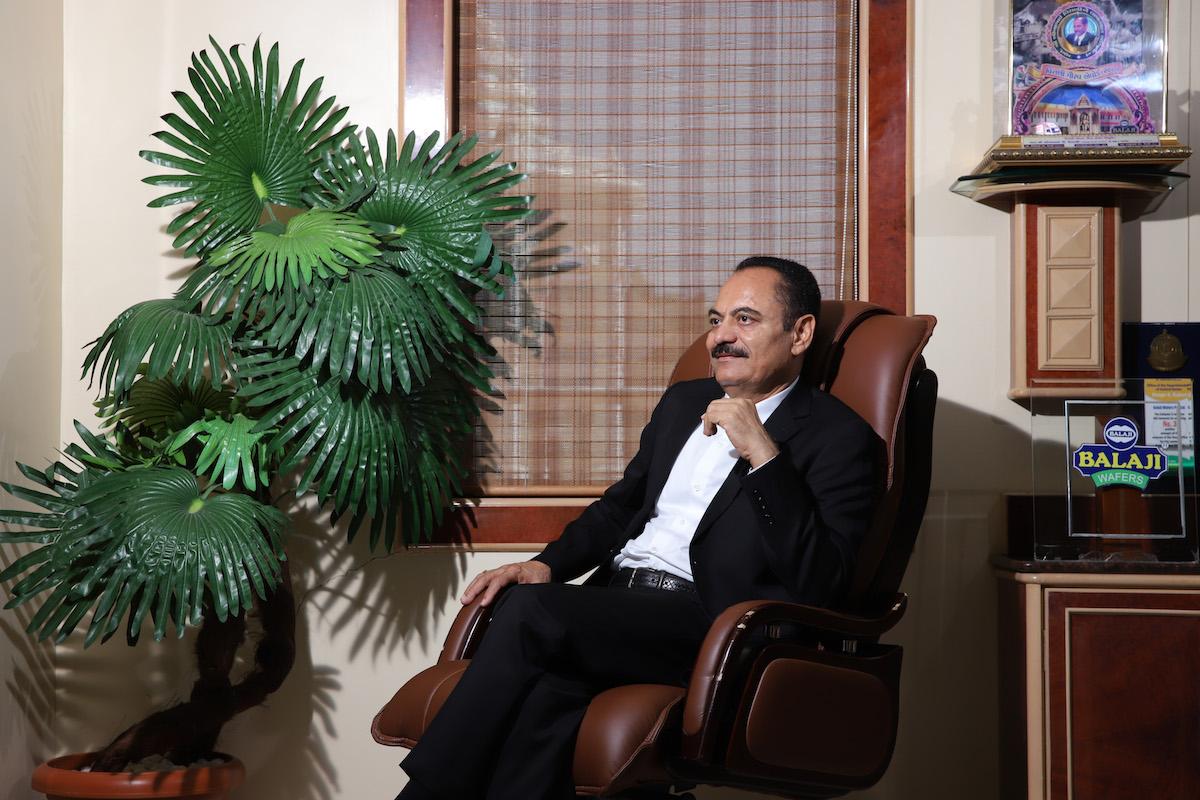 Chandubhai Virani Founder and Managing Director of Balaji Wafers