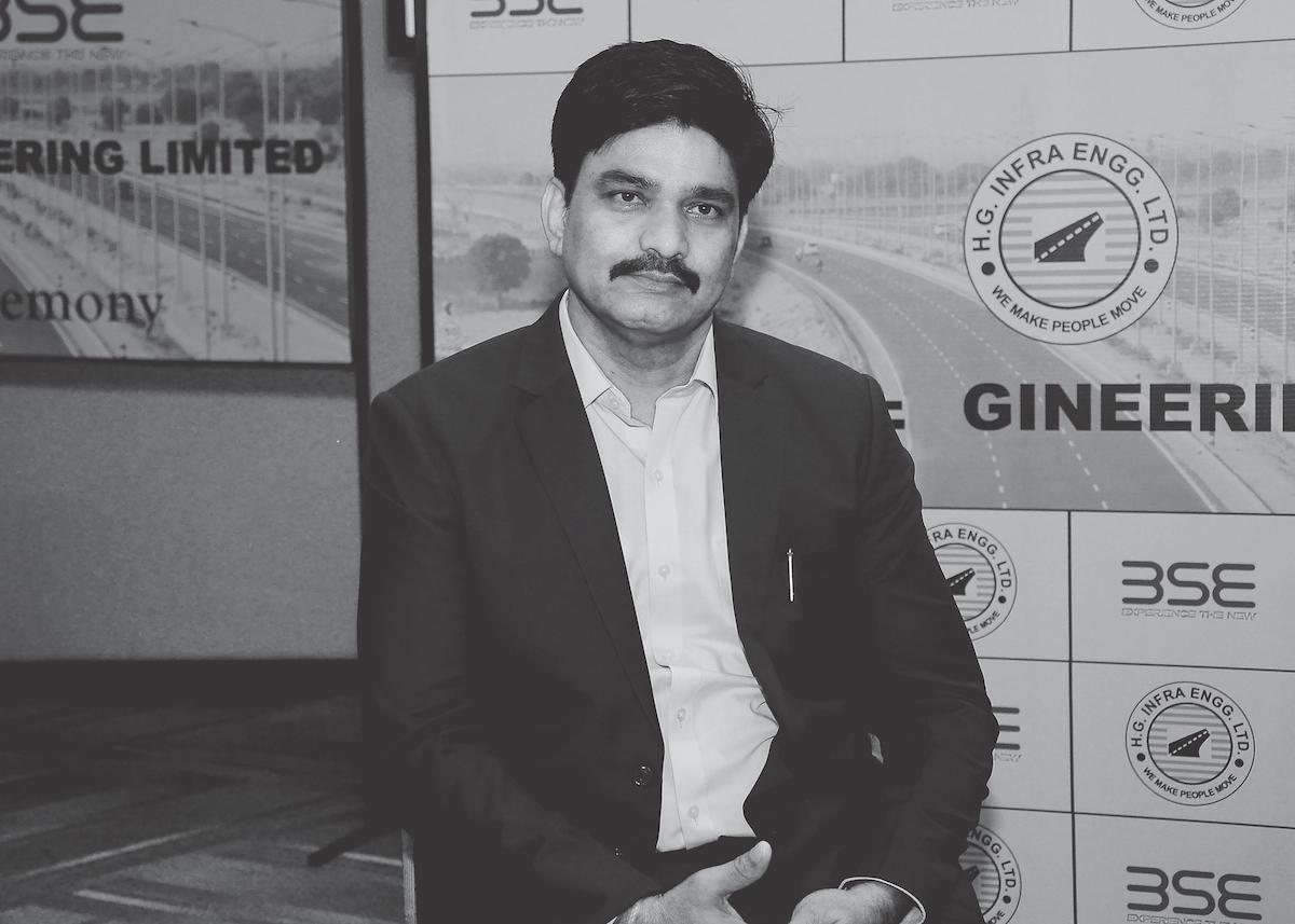Harendra Singh Managing Director of HG Infra Engineering