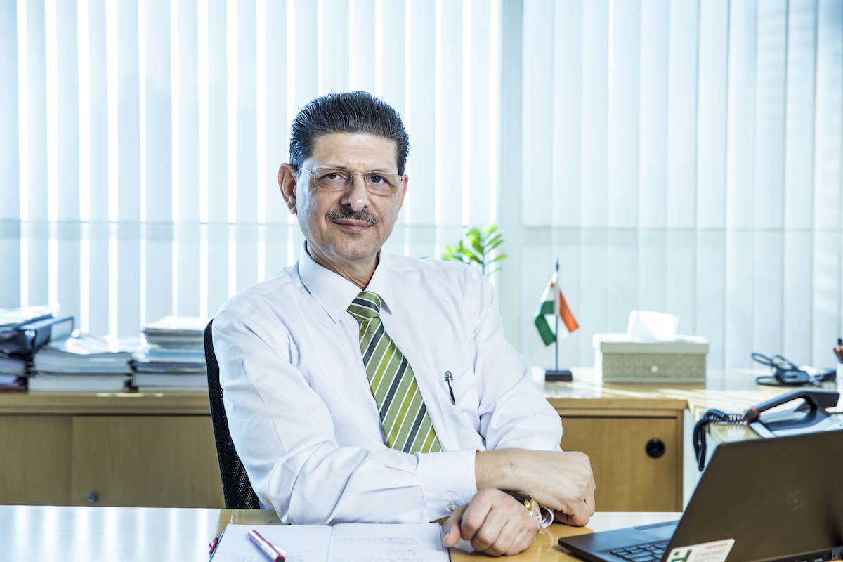 Jamshed Naval Cooper Managing Director of Heidelberg Cement India