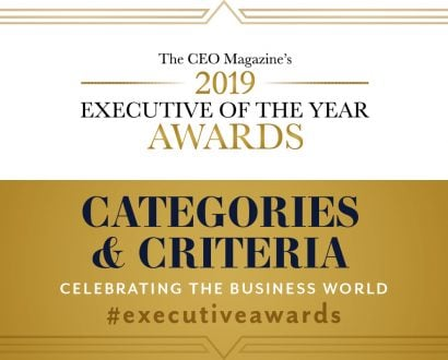 Executive of the year awards categories image