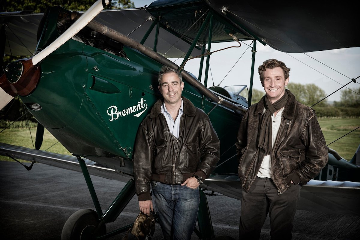 Bremont founders Nick and Giles English