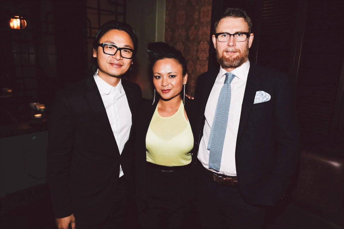 Luke Nguyen, Pauline Nguyen and Mark Jensen