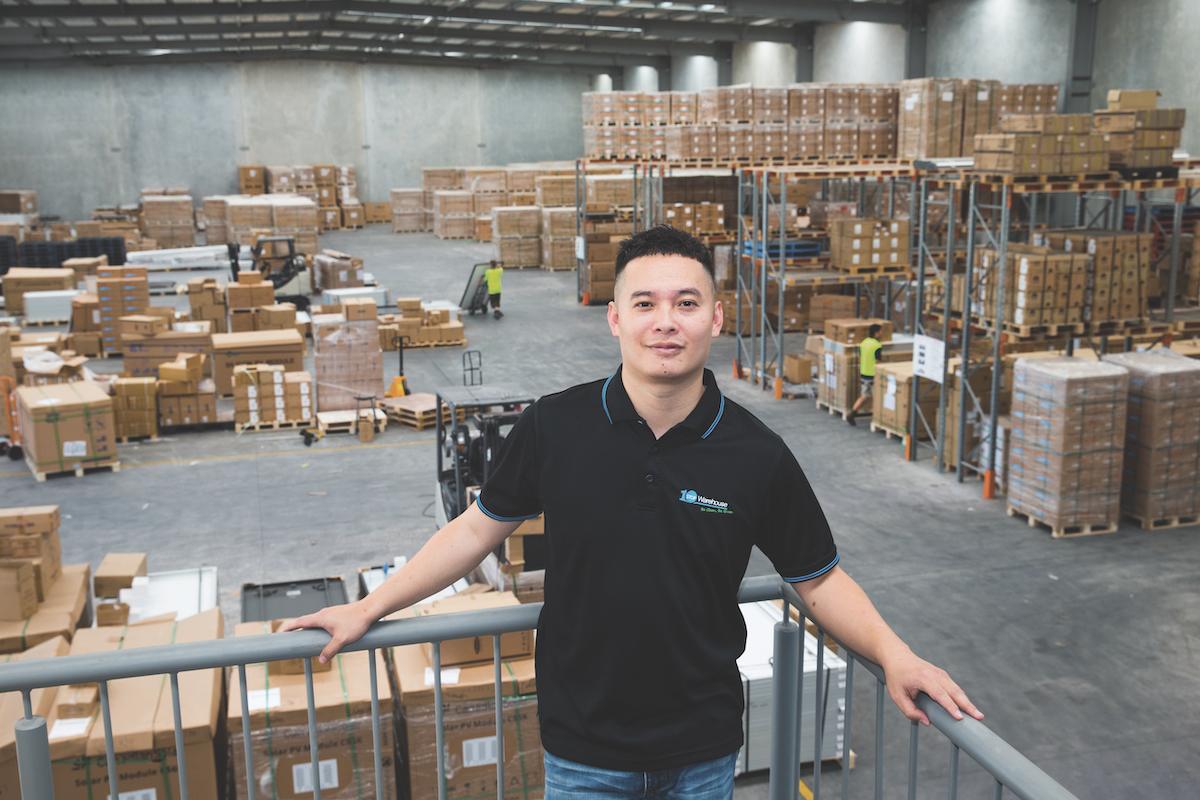 Anson Zhang Co-Founder and CEO of One Stop Warehouse