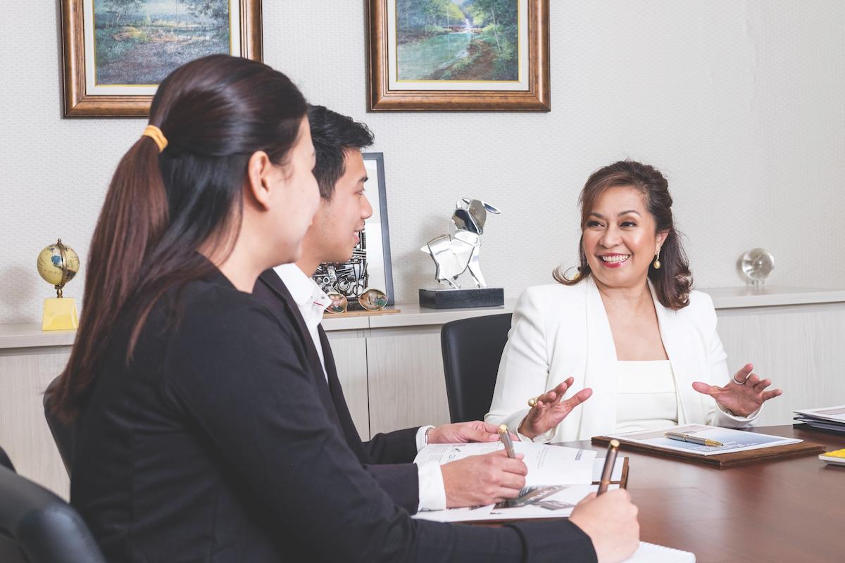 Maria Fe Perez-Agudo President and CEO of Hyundai Asia Resources Inc.
