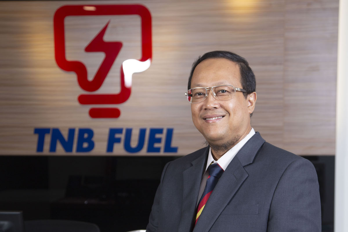 Zainal Abidin Shah Mahamood Managing Director of TNB Fuel Services