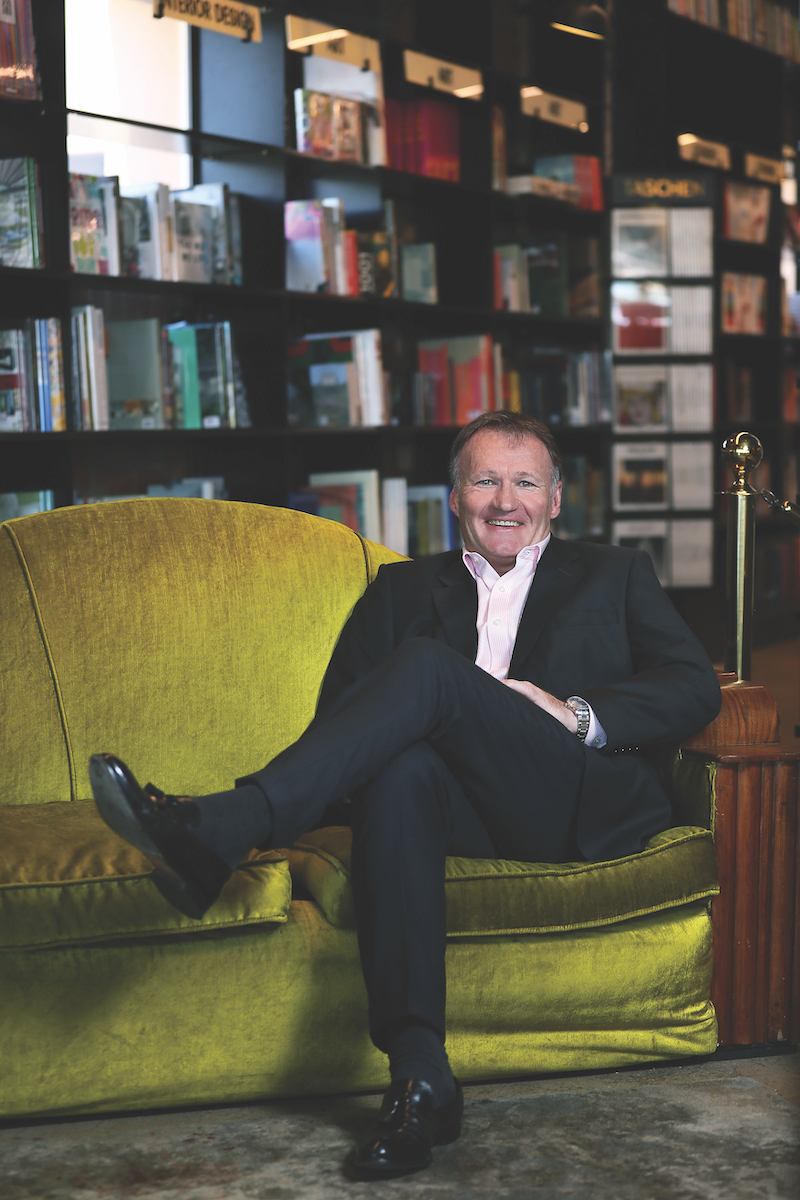 Alan Grattan Kirk CEO of Exclusive Books