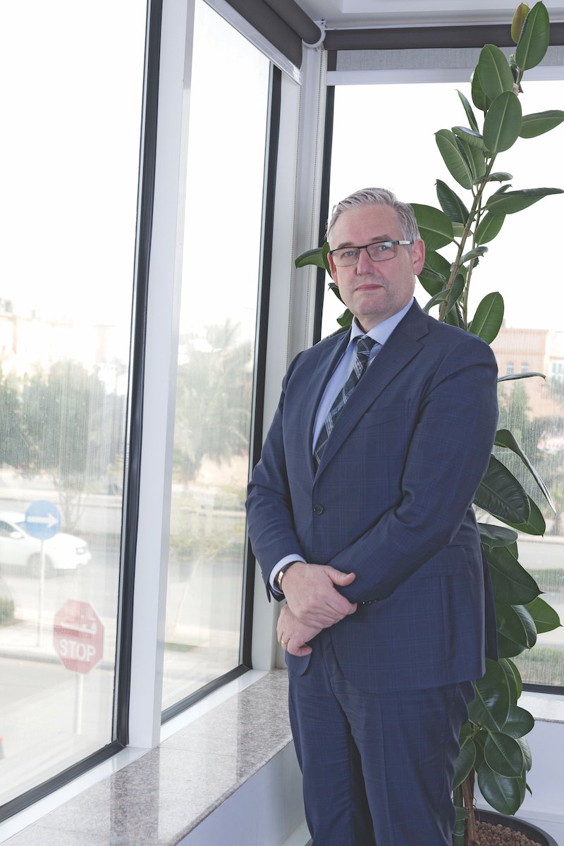 Felix Wass President and CEO of Detecon Al Saudia